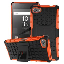 Wholesale Hybrid Case For Lg Nexus - For Sony Ericsson Xperia Z5 Mini Compact Huawei P8 Lite Google LG Nexus 5X Hybrid Kickstand Stand Spider PC TPU Hard Cases Shockproof cover