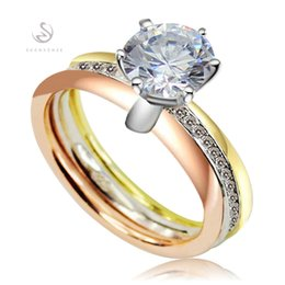 Wholesale Woman S Ring White Gold - The new product Rave reviews Noble Generous S--2457 sz#6 7 8 9 Shinning White Cubic Zirconia Favourite 925 sterling silver for women Rings