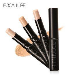 Wholesale Pencil Perfect - FOCALLURE Pro Perfect Concealer Stick 3 COLORS Face Primer Base Sticker Foundation Makeup Studio Fix Foundation Primer Face Cosmetics FA10