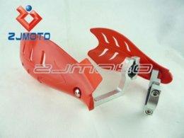 Wholesale Honda Hand Guards - RED BIKE ATV MX MOTOCROSS MOTORCYCLE HAND GUARDS Handguards for honda xr cr crf 125 250 400 450 650 crf250 crf125 xr400 xr650 M54012