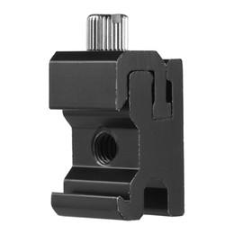 Wholesale Universal Flash Bracket - Metal Camera Flash Hot Shoe Mount Adapter with 1 4 Screw Adapter Seat Block to Flash Bracket Holder for Camera Tripod