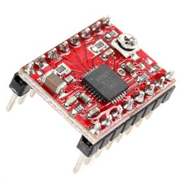 Wholesale Power Stepper Motor - New arrive A4988 3D Printer Stepper Motor Driver Reprap Driver Module Special power sequencing DBP_003