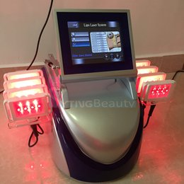 Wholesale Cellulite Reduction Equipment - Fat Burning Liposuction Laser Equipment Lipo Pads Slimming Laser Weight Removal Cellulite Reduction Diode High Quality Beauty Machine