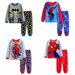 Wholesale Girl Pyjamas - New 2017 Girls Boys Pyjamas Kids Cotton Casual Long Sleeve Pajama Boy Animal Pajamas Children Cartoon Sleepwear