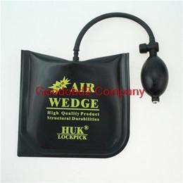 Wholesale High 15 Cm - 2015 High quality Best Black HUK PUMP WEDGE LOCKSMITH TOOLS Auto Air Wedge Lock Pick Open Car Door Lock Medium Size 16*15 CM
