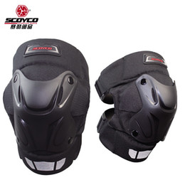 Wholesale Scoyco Elbow - 2015 New SCOYCO motorcycle kneecap biker multi-purpose knee guards wind keep warm kneepad K15-2 made of ABS and for FREE SIZE
