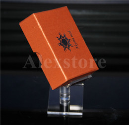 Wholesale Wholesale Acrylic Stands For Display - 2015 Acrylic display box shelf stands clear cases ego holder rack for RDA RTA atomizer kit Dimitri Nookie Castigador box mod ZNA DNA E cig