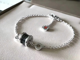 Wholesale authentic children - Authentic 925 Sterling Silver jewelry round ring with BV brand logo Charm Bracelets SAVE THE CHILDREN Charity bracelet