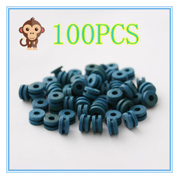 Wholesale Color Grommets - 100PCS Soft blue color H Type Tattoo Grommet For Needle Machine Supply 2100406-5