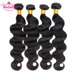 Wholesale Shop Wholesale Hair Color - brazilian body wave Grade 7a Unprocessed Virgin Hair 4 Bundles Cexxy Hair Brazilian Body Wave Princess Hair Shop Virgin Hair Natural Color