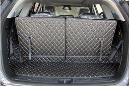 Wholesale Rear Floor Mats - nterior Accessories Floor Mats Top quality! Special trunk mats for KIA Sorento 7seats 2018 durable boot carpets cargo liner for Sorento 2...