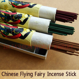 Wholesale Home Scented - Chinese Incense Stick Flying Fairy Incense Sticks 28cm Long 110 Sticks Home Scent Free Shipping