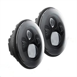 Wholesale Used Jeeps - 7inch 40W LED Headlight for Jeep Wrangler, off road 4x4 use motorcycle off road truck SUV boat