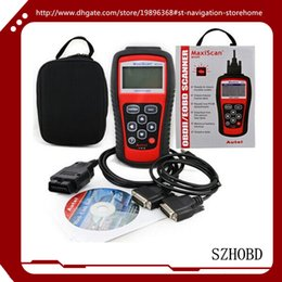 Wholesale Gm Goods - Good quality OBDII EOBD Scanner MaxiScan MS509 supports all nine OBD II test modes on all OBD II compliant vehicles + free shipping