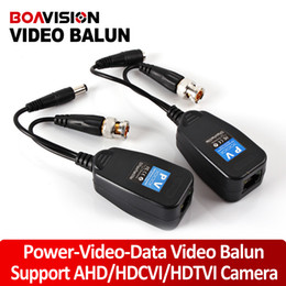 Wholesale Passive Video Power Balun - 1CH Video Balun Passive Supply Power For Analog High Definition AHD HDTVI HDCVI Camera,Power-Video-Data Signal Are Routed Via UTP & RJ45