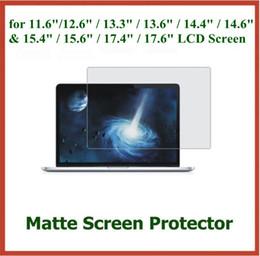 "Wholesale 15 Lcd Laptops Screen - 500pcs Anti-glare Matte Screen Protector for 11.6"" 12.6"" 13.3"" 13.6"" 14.6"" 15.6"" 17.4"" 17.6"" Laptop LCD Screen Protective Film"