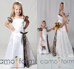 Realtree pink camo wedding dress nz buy new realtree pink camo cheap realtree camo flower girl dresses custom made girls wedding party dresses 2016 with bow sash camouflage dresses girls pageant gowns mightylinksfo