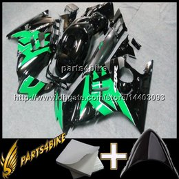 Wholesale 1996 Cbr F3 Green Fairing - 23colors+8Gifts GREEN BLACK Motorcycle Fairing for Honda CBR600F3 1995-1996 95 96 F3 CBR 600 1995 1996 red flames ABS Fairing