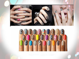 Wholesale Nail Styles Stickers - Fashion Style With Mix Style Nice Pattern Of 3D Design Tip Nail Art Nail Sticker Nail Decal Manicure free shipping