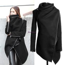 Wholesale Coat Womens Woolen - Promotion ! Womens Winter Woolen Overcoat Fashion Trench Woolen Coat