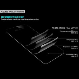 Wholesale New M7 One - Hot Selling New Premium Tempered Glass Film Cover Guard Screen Protector For HTC One M7 Free shipping