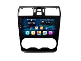 "Wholesale Gps For Subaru - 9""Android 6.0 Car Dvd Gps Navi Audio for Subaru Forester XV 2015 1024*600 OBD 1GB Wifi 3G support Original Steering wheel"