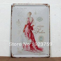 Wholesale Paiting Signed - 15x21cm country style paiting vintageTin Sign Bar pub home Wall Decor Retro Metal Art Poster 18