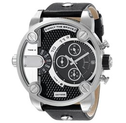 Wholesale Ladies Leather Bracelets Charms - Quartz Watch Men Lovers DZ Sports Watches Brand Bracelet Watches for Lady Fashion Dress Gold Charming Chain Style Jewelry Quartz Men Watch