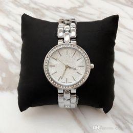 Wholesale Rhinestone Bracelet Japan - Relojes De Marca Mujer Luxury Women Quartz Watches Bracelet Silver Rose Gold Watch with Rhinestone Diamond Clock Japan Movement free ship