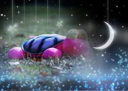 Wholesale Tortoise Led Light - Pink Blue Tortoise Novelty Night Light Cartoon LED Music Lights For Valentine's Day Christmas Gift Kids' Toy Gift Mix Order Min Order1PCS