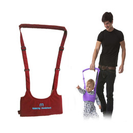 Wholesale Baby Assistant - New Baby Safe Infant Walking Belt Kid Keeper Walking Learning Assistant Toddler Adjustable Strap Harness 5 Colors 2109020