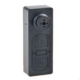 Videograbadora portátil de bolsillo online-5pcs / lot nuevo diseño de la cadena dominante mini videocámara del bolsillo ligero micro cámaras súper videoportero de seguridad portátil mini botón DV
