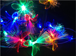 Wholesale Green Modeling - Holiday flower Modeling LED String lights 4m Red Blue Green yellow white fairy String Lights for holiday Christmas light decoration