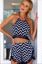 Wholesale Cheap Playsuits - 2015 cheap clothes china women jumpsuit Backless sexy hot playsuits and bodysuits Strapless striped macacao feminino curto