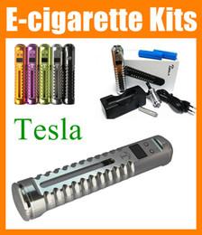 Wholesale X6 Vaporizer Kits - Tesla mech mod kit Variable voltage x3 Mod vv vw power tesla M2 M5 mods fit 18650 Battery ecig e cigarette X6 vamo v3 vaporizer pen TZ017