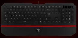 Argentina Envío al por mayor-gratis MSI Gaming teclado DS 4100 cheap keyboard for msi Suministro