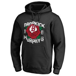 Wholesale Red Sox Pullover - MLB Boston Red Sox 2017 AL East Division Champions Hoodies Assist Postseason Authentic Collection Dropkick Murphys Rose Tattoo sweatshirt