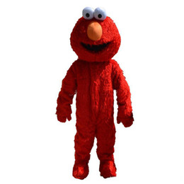 Wholesale Mascot Costumes Sale - 2018 Factory direct sale elmo mascot costume adult size elmo mascot costume free shipping
