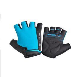 Wholesale Women Gel Cycling Gloves - 2017 Summer Cycling Gloves Man Woman Mtb Bike Sport Gloves Half Finger Glove Gel Pad Breathable Accessories
