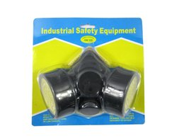 Wholesale Gas Masks Cheap - Cheap Double Gas Mask protection filter Chemical Gas Respirator Face Mask