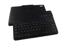 Wholesale Nexus Tablet Bluetooth Keyboard Case - Wholesale-Detachable ABS Bluetooth Keyboard can fission For Google Nexus 9 8.9'' Tablet 2-in-1 keyboard Leather Stand Case Filp