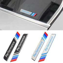 Performance de windows en Ligne-Acrylique M Performance fenêtre Decal Sticker M Power Side Fender Emblème Badge pour BMW 1 3 5 Série E90 F30 F10 E60 E46
