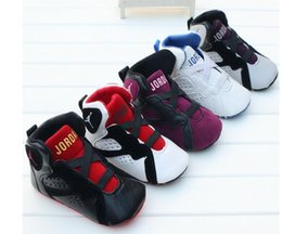 Wholesale New Girls Sneakers - new Baby Boys Sneakers indoor Toddler Shoes First Walkers Soft Bottom For Children Kids Girls