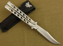 Wholesale Gear Cutting Tools - 2015 butterfly BM43 jilt knife Free-swinging Knife survival gear hunting knife BM40 BM42 BM47 rescue knives micro cutting tool B218M