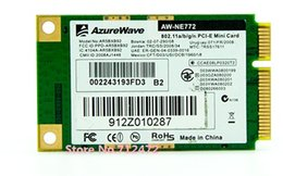 Wholesale Pci Card Wireless - Wholesale- Original New Atheros AR9280 AR5BXB92 Dual-Band 5G 2.4G mini PCI-E Card 300Mbps