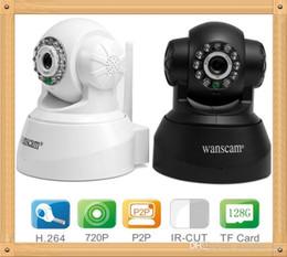 Wholesale Wanscam Wireless Wifi Ip Camera - Original wanscam HW0040 720P 1.0 Megapixel H.264 P2P Support 32G TF Card Mini IP Camera with Onvif Wifi Wireless cctv Camera