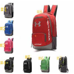 Wholesale Waterproof School Bags - UA Backpack Casual Hiking Camping Backpacks Waterproof Travel Outdoor Bags Teenager School Bag DHL Fedex Shipping