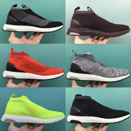 Wholesale Denim Boots For Women - 2016 Fashion Top Quality Boots ACE16 ACE 16 PureControl Ultra Boost Ultraboost Shoes Men City Sock Shoes For Women Free shipping