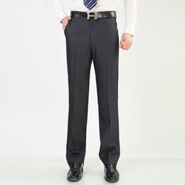 Wholesale Man Western Style Suits - Wholesale-2016 Men Suit Pants Brand Business Men's Pant Western Style Formal Men Wedding Party Dresses