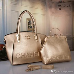 Wholesale Fashion Hobo Bags - New CC Brand Bag Women Gabrielle Composite Famous Designer C Shoulder Bag Leather Handbags Tote Womens K0 Shopping HOBO Bags